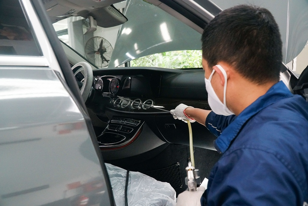 6 cách vệ sinh khử trùng cho xe ô tô trong mùa dịch Covid-19