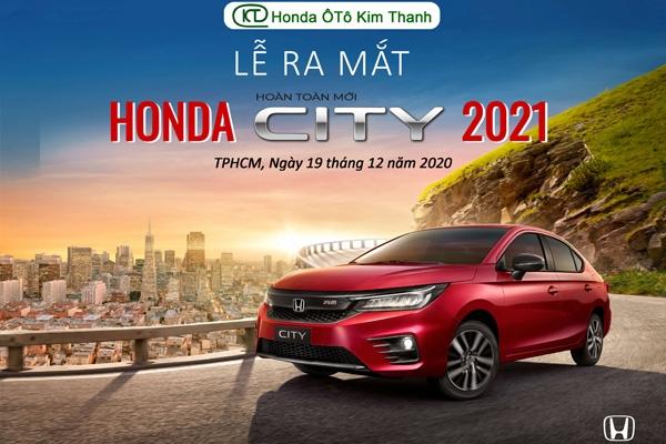 Thông báo: Sự Kiện Ra Mắt Honda City 2021 Hoàn Toàn Mới️